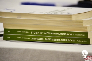 "Presentazione in anteprima del libro ""Storia del movimento antiracket"" - Foto e Video"